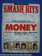 Smash Hits - 10th Sept. 1986 - A-HA, The Stranglers, The The, Samantha Fox