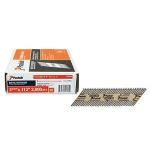 Paslode Framing Nails 2-3/8 in. Steel Gauge 30-Degree Paper Tape (2000 per Box)