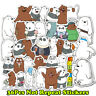 36pcs We Bare Bears Graffi Stickers for Laptop Luggage Car Skateboard Bomb Decal