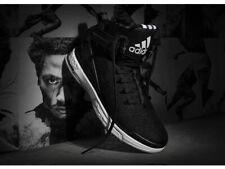 Adidas Mens D Rose 6 Boost Basketball Shoes Black/White F37128 UK 12, 14