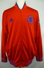 Authentic Adidas NBA Los Angeles Clippers Full Zip Track Jacket Size Adult XL