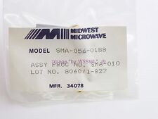 Midwest Microwave Ra Sma Male Sma-056-0188 - Sold by W5Swl