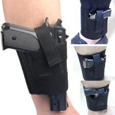 Concealed Carry Right/Left Ankle Leg Gun Holster for Medium Small Pistol CF