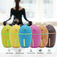 LED Ultrasonic Aroma Essential Oil Diffuser Air Aromatherapy Humidifier Purifier