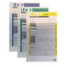 SSI Logbuch Einlagen LEVEL 1 bis 3