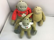 PLUSH CHIMP BEANIE PG TIPS SOFT TOY MONKEY ADVERTISING KNITTED Joblot/Bundle