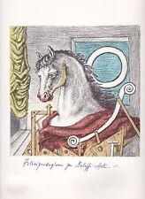 """litografia Giorgio De Chirico """"O"""""""