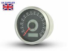 Digital GPS Speedometer MPH Smiths Style Retro Motorcycle Car Boat Trike 85mm
