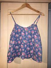 Denim Co At Primark Floral Print Vest Top Size 14