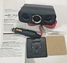 3 Way Car Charger Splitter Cigarette Lighter Socket Power Plug 12V Metra CK-PL50