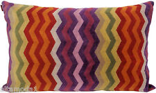 MISSONI HOME FODERA CUSCINO COLLEZIONE CHEVRON PETE 159 40x60 PILLOW COVER