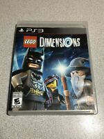 PS3 Lego Dimensions Game Sony Playstation 3 Complete Manual
