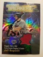 2003 Topps Chrome Refractor Jeff Bagwell Record Breakers Houiston Astros  C411