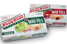 KRISPY KREME DOUGHNUTS GLAZED MINI FRUIT PIES - APPLE OR CHERRY - MIX & MATCH!