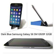 Samsung Galaxy S6 SM G920F 32GB Unlocked Smartphone Dark Blue Cell Phone