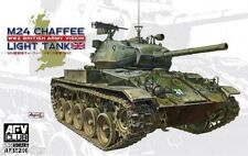 "Char léger US.  M24 ""CHAFFEE"", WW2 - KIT AFV CLUB 1/35 n° 35210"