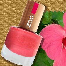 Zao Nail-Polish 657 Nagellack Fuchsia-Pink Bora-Bora Collection 8ml Bambus 7free