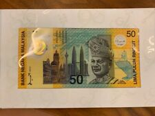 RM50 Malaysia 1996-1998 Commonwealth Games (Commemorative Notes)