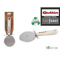 Coupe pizza Inox HQ Découpe Tranches Pro Quttin manche matériaux Bio Sterling