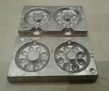 watch clock lead fishing weight mould