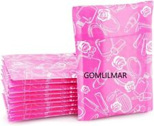 4x8 Inches Pink Rose Designer Poly Bubble Mailers Padded Envelopes Boutique