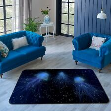 3D Starlight Jellyfish I500 Animal Non Slip Rug Mat Round Elegant Carpet Honey