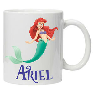 Little Mermaid Personalised character mug/Cup Perfect Gift Birthday