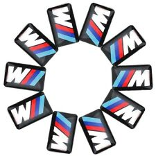 Logo M POWER BMW 10 x Sticker 3D Insigne Autocollant 19X11mm jantes volant