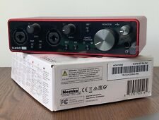 More details for focusrite scarlett 2i2 2x2 3rd generation usb audio interface
