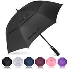 ZOMAKE Automatic Golf Umbrella Windproof, Large Stick Umbrella with 62/68 Inch