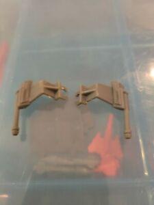 M.A.S.K. Firecracker Rear Gun  Part Accessory 1985 Vintage Kenner Mask x2
