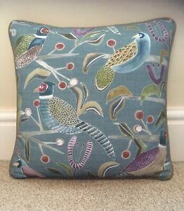 """Handmade Piped Cushion Cover John Lewis VOYAGE LOSSIE Herringbone Tweed 16"""""""