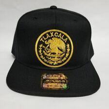 Tlaxcala Mexico Hat Black 1Logo Snap Back Adjustable New