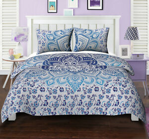 Queen Size Mandala Wall Hanging Bedding Bed Cover Hippie Bohemian Tapestry Throw
