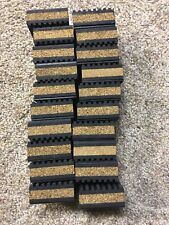 20 pack Anti Vibration isolation pad rubber/cork 2x2x7/8-SPEAKER COMPRESSOR PUMP