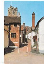 Somerset Postcard - Church Steps - Minehead     XX260
