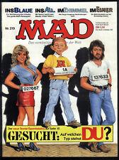MAD Nr.219 von 1988 - TOP Z0-1 ORIGINAL BSV COMICHEFT Satire Alfred E.Neumann