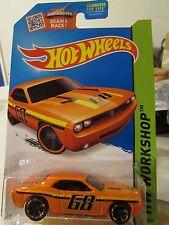 Hot Wheels Dodge Challenger Concept Hw Workshop Orange