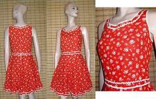 Ärmellose Damen-Trachtenkleider & -Dirndl im Landhaus-Stil aus Baumwolle