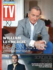TV MAGAZINE N°22028 7 JUIN 2015  LEYMERGIE/ SERIES TV/ KEV ADAMS/ GREY'S ANATOMY