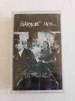 Metallica Garage Inc Cassette Tape Heavy Rock & Roll Tape #1