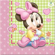 Baby Minnie Mouse Napkins Minnie Mouse Birthday Party