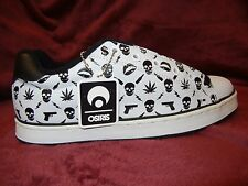 OSIRIS #Troma SEVEN DEADLY SINS size 12 white SHOES #Deadstock Sneakers RARE #DS
