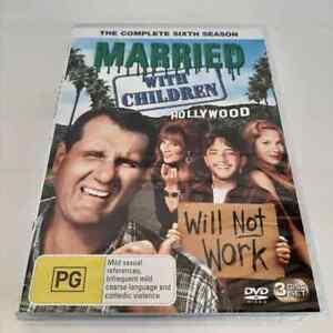 Married With Children : Season 6 (DVD, 3-Disc Set) NEW Region 4