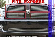 GTG 2009 - 2012 Dodge Ram 1500 Express 4PC Polished Overlay Billet Grille Kit