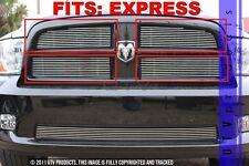 GTG 2009 - 2012 Dodge Ram 1500 Express 4PC Polished Overlay Billet Grille Kit