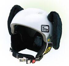 Helmohren für Skihelm Hund - Hundeohren für Rad Helm Helmet Black Dog Ears Ski