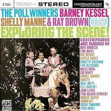 Barney KESSEL Shelly MANNE: Exploring the Scene 1960 (CD, Fantasy, 1988) VG Used