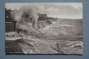 R&L Postcard: Rough Sea Stormy Weather, Clacton