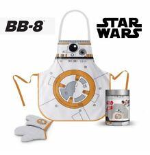 SD Toys Star Wars - Grill-Schürze & Gloves BB-8 in glass Pot - New / Orig.